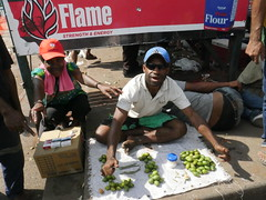 A man selling betel nuts!