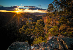 Mitchells Ridge Sunset.jpg (Gary Hayes) Tags: australia sunsrisesunset mountvictoria landscape cloudscapes newsouthwales bluemountains