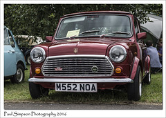 Mini Mayfair (Paul Simpson Photography) Tags: rovergroup rover mini minimayfair 1994 1990scar classiccarshow smallcar sonya77 imageof imagesof paulsimpsonphotography photoof photosof redmini lincolnshire transport bartonuponhumber britishcar british carsfromtheuk english