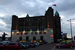 New York by Night (Eddy Allart) Tags: hotel rotterdam wilhelminapier avond netherlands