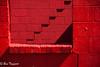 Stairs to no where (flymarinesch46) Tags: red black bricks stairs zigzag shadows cinderblock old building northcaroline sideofaroad fallingdown nikond700