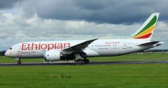 ET-AOR (Ken Meegan) Tags: etaor boeing7878 34746 ethiopianairlines dublin 2692016 50years2013yearofpanafricanismandafricanrenaissance logojet boeing787 boeing 7878 787 b787 b7878 boeingdreamliner dreamliner