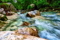 Panta rhei (novofotoo) Tags: blau dreiseengebiet fluss grn hintersee landschaft natur ramsau ramsauerache see wasser zauberwald blue green landscape nature river scenic water