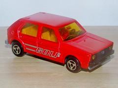 Majorette Volkswagen Golf (Vintage Toy Collection) Tags: majorette veron norev vw golf volkswagen diecast oldtoy vintagetoy toycar toy madeinfrance