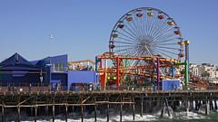 Above the waves (Damian Gadal) Tags: santamonica california pier january 2016 sonynex7