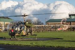 EGVP - Westland Sioux AH1 - XT131 (lynothehammer1978) Tags: egvp aacmiddlewallop armyaircorps aac army westlandscoutah1 xt131 armyaircorpshistoricflight ahaf