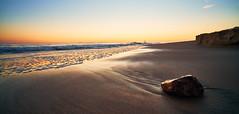 Untitiled (Tom -) Tags: sunset light rock sea ocean sky california crystalcave outdoor stone water sony a7rii 15mm voigtlander1545iii