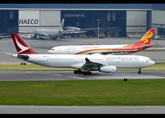Airbus | A330-343 | Cathay Dragon | B-HYQ | Hong Kong | HKG | VHHH (Christian Junker | Photography) Tags: nikon nikkor d800 d800e dslr 70200mm plane aircraft airbus a330343 a330300 a333 a330 cathaydragon dragon ka hda dragon618 ka618 hda618 bhyq oneworld swire heavy widebody takeoff departure 07r airline airport aviation planespotting 581 hongkonginternationalairport cheklapkok vhhh hkg clk hkia hongkong sar china asia slw shalowan lantau christianjunker flickrtravelaward flickraward zensational hongkongphotos worldtrekker superflickers dragonair