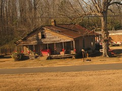 Alabama: season of hope (green voyage (falling behind again)) Tags: houses winter usa december afternoon alabama trains amtrak woodenbuildings christmasseason gulfcoastregion