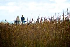 Alviso Hiking Trial (Charlie Day DaytimeStudios) Tags: california ca people cloud clouds rainyday grassland alvisoca