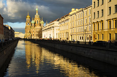 482ru (Nadia Isakova) Tags: city trip travel november autumn sunset vacation people reflection building heritage history tourism church water horizontal museum architecture facade buildings stpetersburg landscape evening town canal holidays nadia europe european exterior cathedral symbol russia mosaic traditional famous religion sightseeing cities culture churches cathedrals landmark canals dome destination leisure sight saintpetersburg tradition visitors russian domes visitor past eastern orthodox towns iconic embankment easterneurope leningrad attraction 2012 traveldestinations parland cathedraloftheresurrectionofchrist churchonspiltblood khramspasanakrovi griboedovcanal thechurchofoursaviouronthespilledblood nadiaisakova