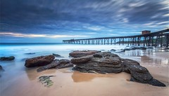 Having a Wide look at Catho. (madarchie0) Tags: longexposure seascape australia wharf catherinehillbay