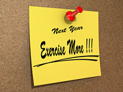 next Year Exercise More