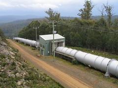 Lake Echo Power Station penstock (BigDams) Tags: tasmania powerstation hydroelectric penstock hydrotasmania tungatinah