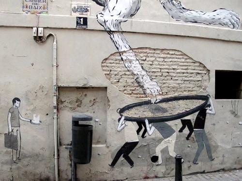 Valencia graffiti, Escif