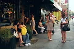 whisper in my ear (omoo) Tags: newyorkcity girls summer restaurant couple legs sandals manhattan westvillage streetscene sidewalk flipflops girlfriends prettygirls greenwichvillage bleeckerstreet december21 miniskirts summerdresses barelegs whisperinmyear remembersummer summerbreezes winterbegins eatingfrozenyogurt whisperinmyeartellmethingsiwanttohear tellmethingsiwanttohear