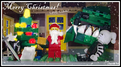 Week 51 (chrisofpie) Tags: santa christmas chris holiday project scott pie toy toys outdoors funny lego jester lol liam legos hero knight brave heroes minifig weeks mime 52 minifigure minifigures 52weeks stunningphotography legohero legoholiday whitejester stunningphotogpin chrisofpie 52weeksofliamthemime liamthemine scottthedragon