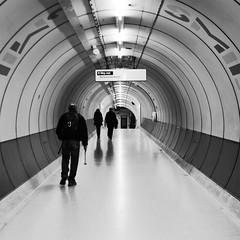 Underground Tunnel (preynolds) Tags: blackandwhite london underground mono tube kingscross northernline tamron1750mm canon600d