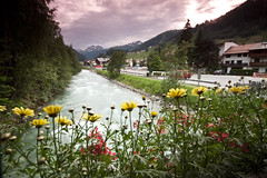 St Anton, Austria (michaelbaynes87) Tags: summer sky flower water river outdoors austria europe stanton