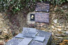 Jean Briel dit Jean Tourane (Oric1) Tags: france grave jean rip famous canard cimetiere 91 tombe tourane friedhfe essonne briel saturnin oric1 levalsaintgermain