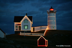 Nubble Light,Cape Neddick, ME (mikekos333) Tags: lighthouse maine soe 2012 nubble capeneddick top20lh