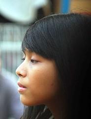 2009_04_01_9999_391fr (Mangiwau) Tags: hot streets west girl shopping indonesia asian java dress butt babe sidewalk jakarta denim raya roadside jalan cantik chequered cewek beib banten ciputat montok tangsel
