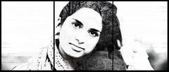 Urvi (double exposure) (Alexpollardphotography) Tags: portrait blackandwhite alex photography doubleexposure triplet pollard mistry walkaway urvi alexpollard