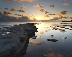 Kimmeridge Sunset (peterspencer49) Tags: uk sunset southwest beach clouds bay coast unitedkingdom dorset coastline kimmeridge coastalpath westcountry southwestcoast jurassiccoast southwestcoastalpath unescosite 5dmkll peterspencer stunningseascape coastalledges peterspencer49