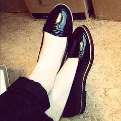 Nu i rtt storlek! :) #newshoes... (Hanna Metsis) Tags: shoes newshoes blackpatent uploaded:by=flickstagram instagram:photo=2746530074195553421033854
