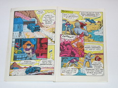 m.a.s.k mini comic 3 assault on boulder hill kenner 4 (tjparkside) Tags: comic mask kenner minicomic