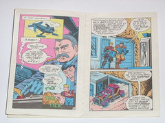 m.a.s.k mini comic 1 flaming beginnings kenner 6 (tjparkside) Tags: comic mask kenner minicomic