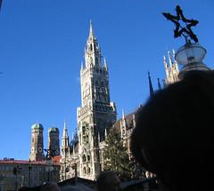Munich Germany (catarina.berg) Tags: germany munich mnchen deutschland star cityhall towers rathaus frauenkirche marienplatz