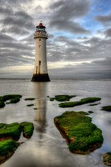 NEW BRIGHTON LIGHTHOUSE (PERCH ROCK), NEW BRIGHTON, MERSEYSIDE, ENGLAND. (ZACERIN) Tags: brighton new digitalcameraclub nikon brighton river photography rock sea hdr nikon image irish lighthouse lighthouse lighthousetrek hdr england liverpool lightkeeperaward mersey rock seaside d800 d800 lancashire merseyside perch perch eddystone eddystone