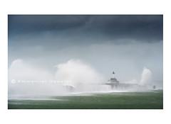 Storm (Emmanuel DEPARIS) Tags: sea mer storm france de boulogne north sur cote pas phare emmanuel calais semaphore tempete opale deparis
