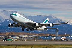 Cathay Pacific B-LIC Sep 30 12 CPA71 PANC VHHH (AK Ween) Tags: alaska anchorage cathaypacific panc tedstevensinternational blic