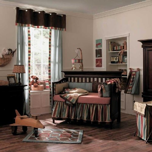 Baby-girl-bedding-theme-with-a-classic-touch