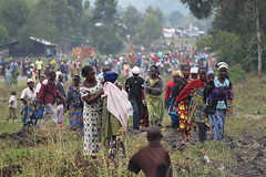 People fleeing fighting in Eastern Democratic ...