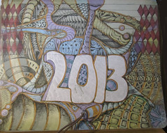Smead Decorated Organizing File (molossus, who says Life Imitates Doodles) Tags: organizer smead zentangle