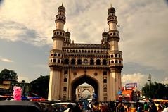Charminar (iamrawat) Tags: golkonda hyderabad masjid charminar historicindia qutbshahi islamicmosque mygearandme photographyforrecreation sultanmuhammadquliqutbshah