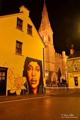Ennis Street Art (garycollins2) Tags: christmas xmas ireland photography lights photo nikon long exposure flickr clare image ennis 2012 enis d5000 evamena garycollins2