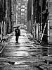 Guess what, it's raining (tootdood) Tags: street blackandwhite wet rain umbrella walking square manchester candid stevenson raining brolly canon600d
