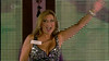 Tricia Penrose is seen entering the house on 'Celebrity Big Brother' Shown on Channel 5 HD