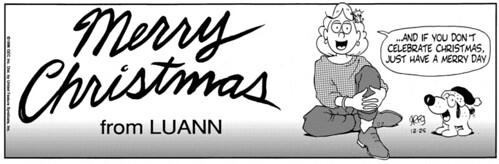 Source: gocomics.com, Luann 12/25/1996