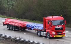 MAN TGX CM 244 PA (gylesnikki) Tags: red truck artic capelle