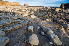 """Beach below Souter Lighthouse, Whitburn with Arch at Lizard Point in Distance<br /><span style=""""font-size:0.8em;"""">This image is part of a photoshoot that is discussed in Ian Purves blog -  <a href=""""http://purves.net/?p=923"""" rel=""""nofollow"""">purves.net/?p=923</a><br />Title: Rock Arch at Lizard Point in Whitburn<br />Location: Whitburn, South Shields, Tyne and Wear, UK</span> • <a style=""""font-size:0.8em;"""" href=""""https://www.flickr.com/photos/21540187@N07/8376487477/"""" target=""""_blank"""">View on Flickr</a>"""