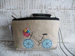 camera pouch (monaw2008) Tags: camera vintage recycled handmade linen purse pouch denim applique reuse reused upcycled monaw monaw2008