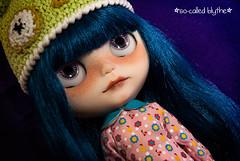 Azure (*SO-CALLED BLYTHE* by so-called anna) Tags: factory azure blythe freckles custom rbl socalledblythe custombysocalledanna