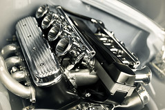 Chrome: (AutisticReaction) Tags: summer sun hot car 35mm bay pentax engine clean chrome canberra top10 f18 v8 holden finalist summernats quadwebbers