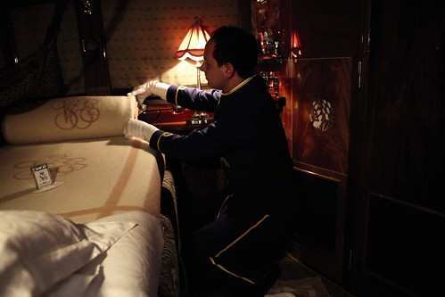 Venice-Simplon-Orient Express - turn-down service