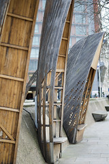 Benchboats (Cris Ward) Tags: street wood london westminster architecture bench 50mm boat chair natural decorative seat sony landmarks landmark ornament earthy material nautical alpha seating a450 50mmsam18